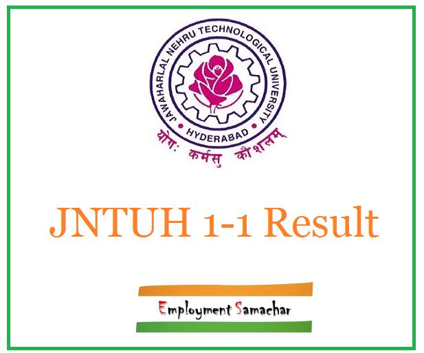 JNTUH 1-1 Result