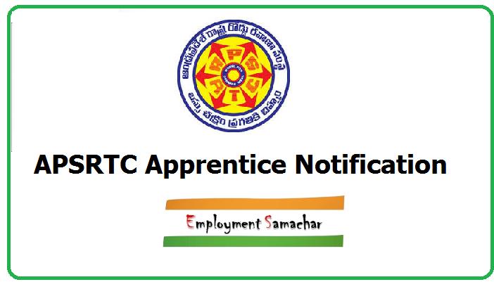 APSRTC Apprentice Notification