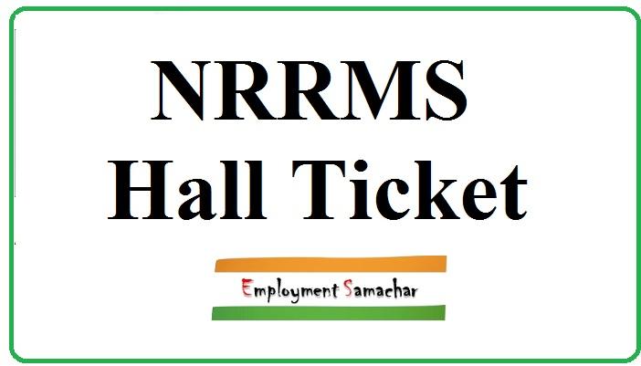 NRRMS Hall Ticket