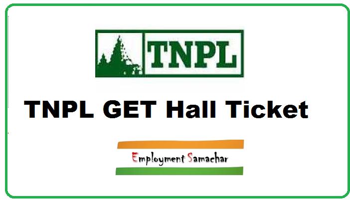TNPL GET Hall Ticket