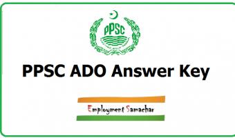 PPSC ADO Answer Key