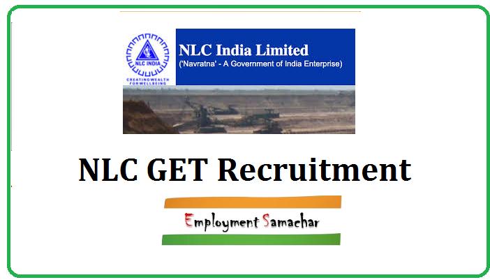 NLC GET Recruitment