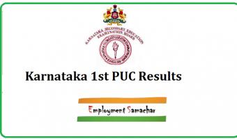 Karnataka 1st PUC Results