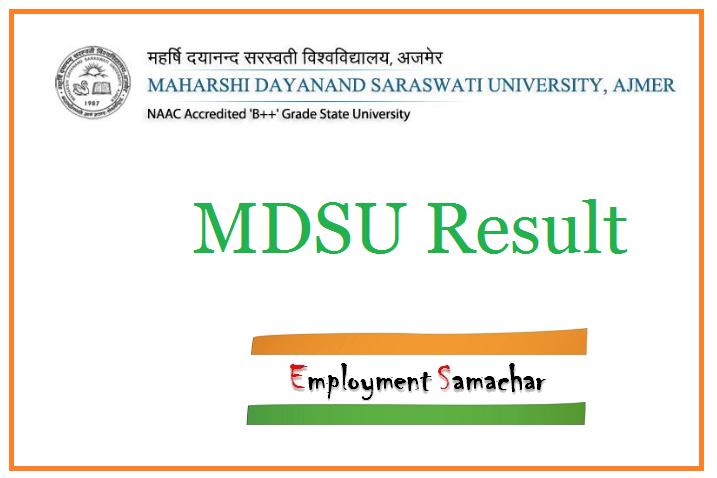 MDSU Result