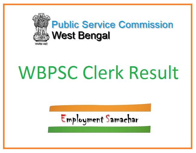 WBPSC Clerk Result