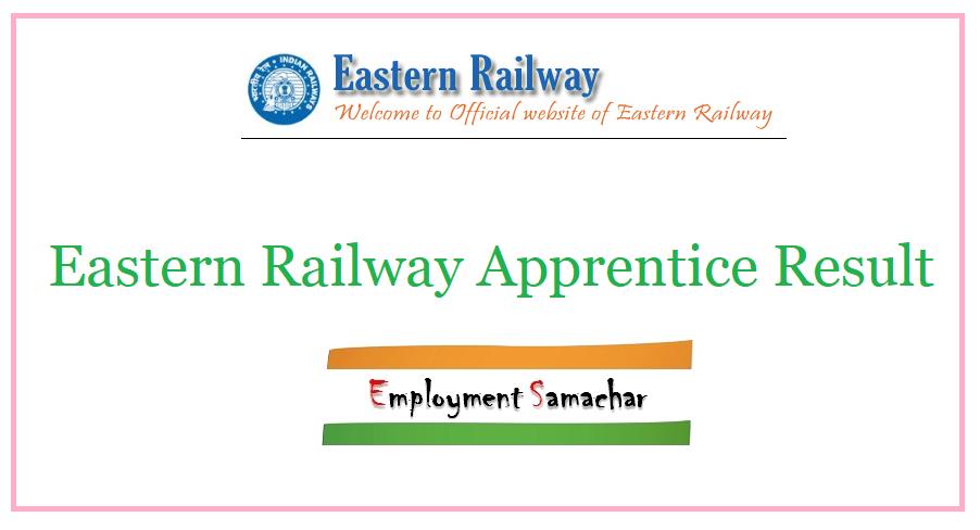 Eastern Railway Apprentice Result