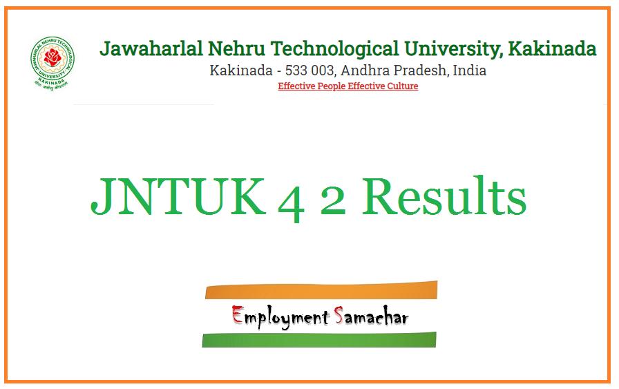 JNTUK 4-2 Results