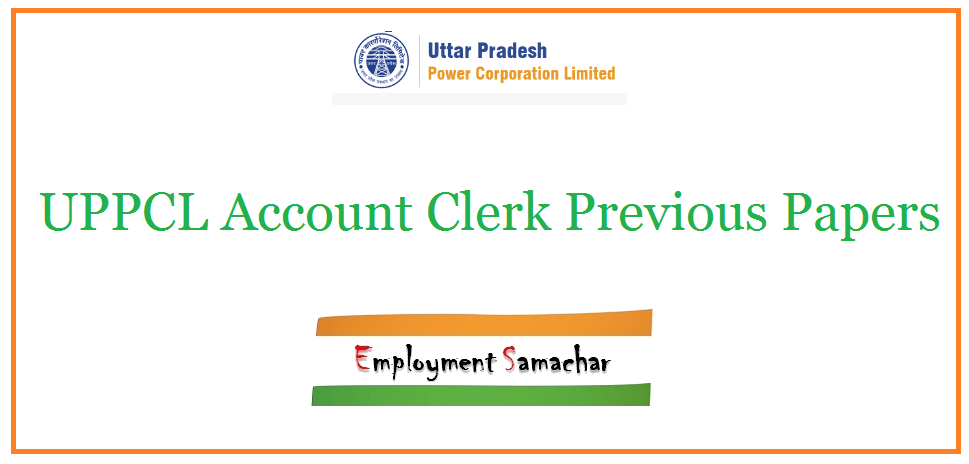 UPPCL Account Clerk Previous Papers