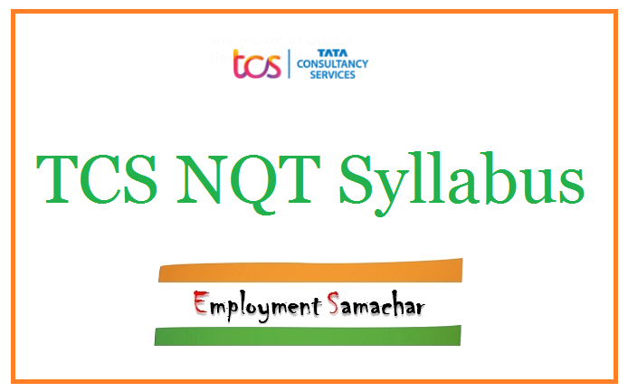 TCS NQT Syllabus