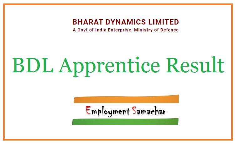 BDL Apprentice Result