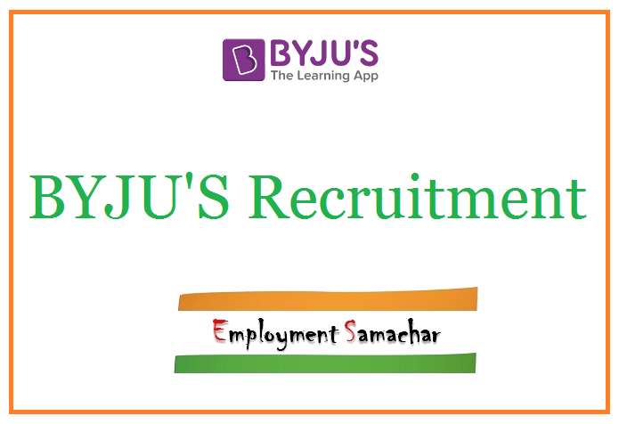 BYJUS Recruitment