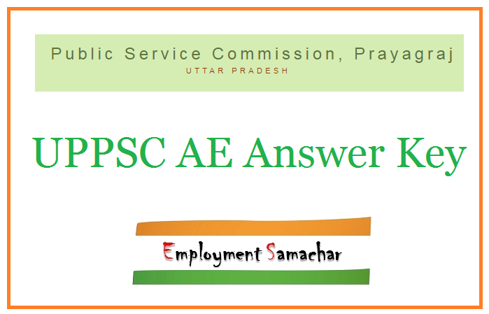 UPPSC AE Answer Key