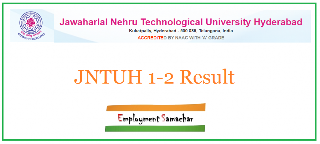 JNTUH 1-2 Result