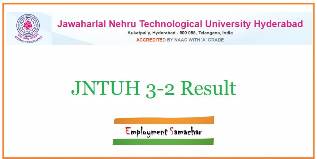 JNTUH 3-2 Result