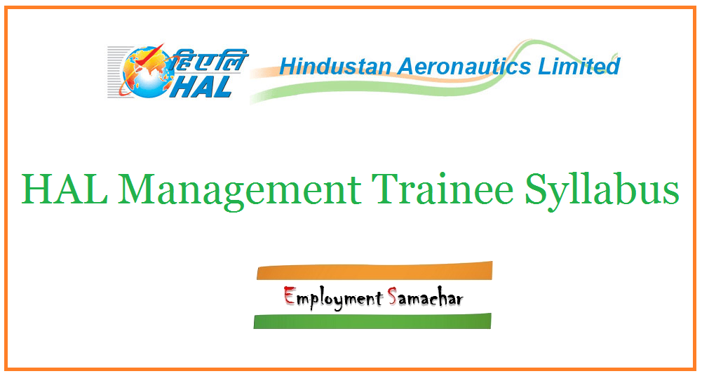 HAL Management Trainee Syllabus