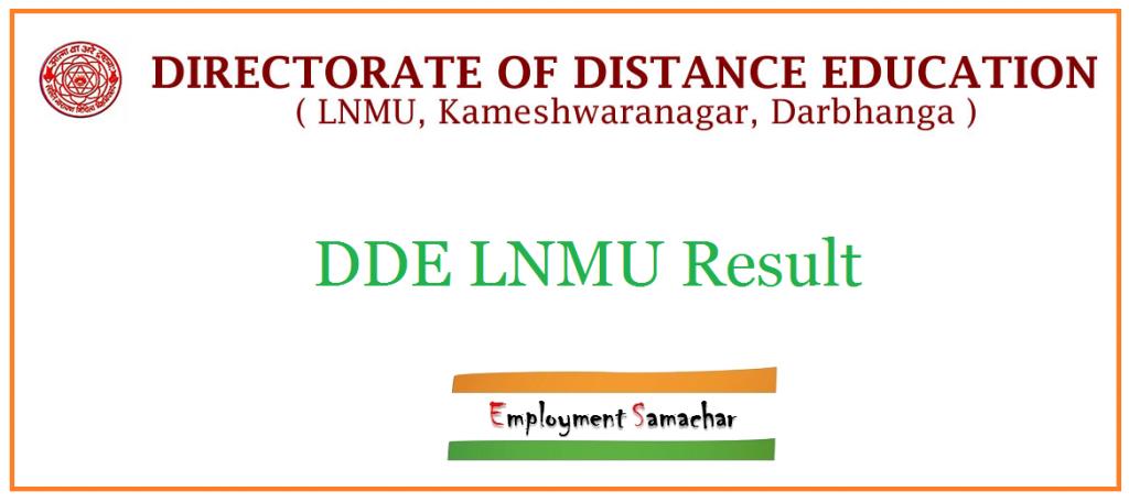 DDE LNMU Result