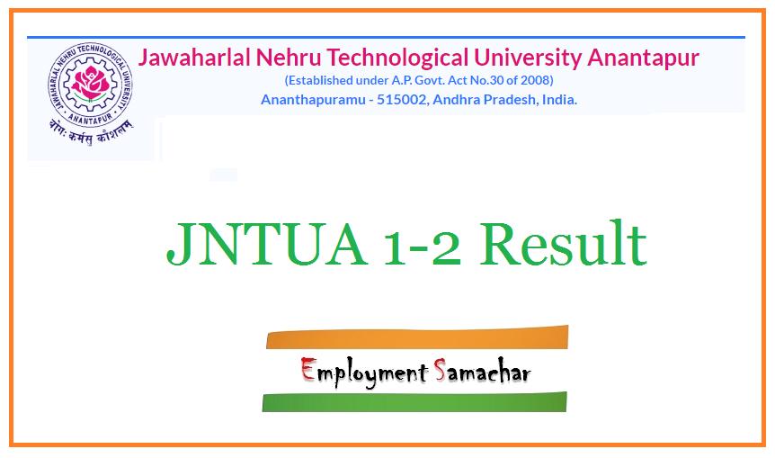 JNTUA 1-2 Result