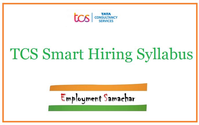 TCS Smart Hiring Syllabus