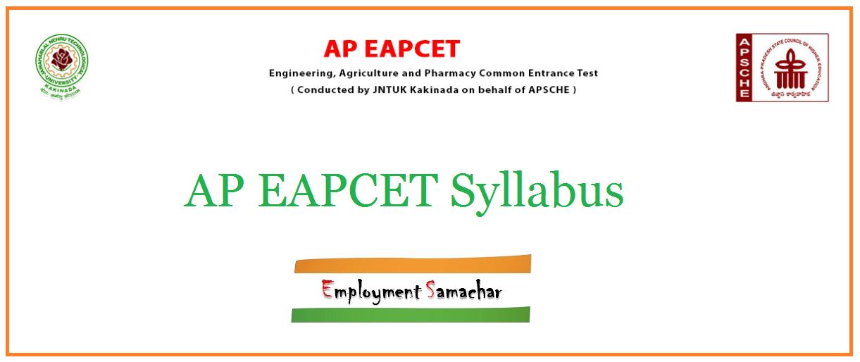 AP EAPCET Syllabus
