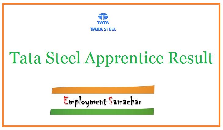 Tata Steel Apprentice Result
