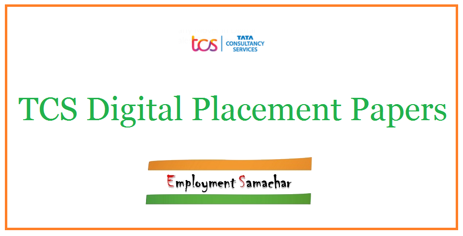 TCS Digital Placement Papers