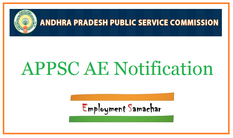 APPSC AE Notification